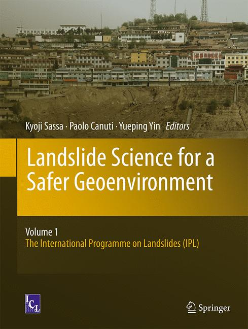 Cover of 'Landslide Science for a Safer Geoenvironment'