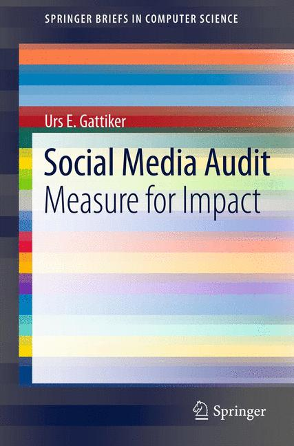 Cover of 'Social Media Audit'