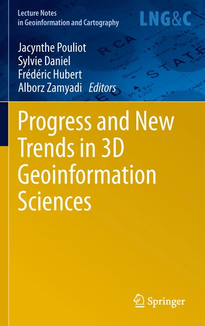 Cover of 'Progress and New Trends in 3D Geoinformation Sciences'
