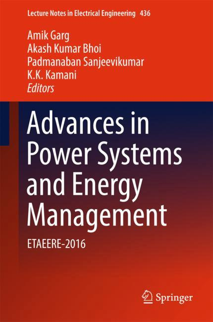 Cover of 'Advances in Power Systems and Energy Management'