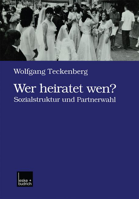 Cover of 'Wer heiratet wen?'