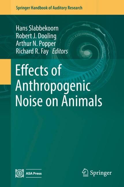 Cover of 'Effects of Anthropogenic Noise on Animals'