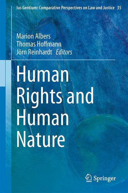 Cover of 'Human Rights and Human Nature'