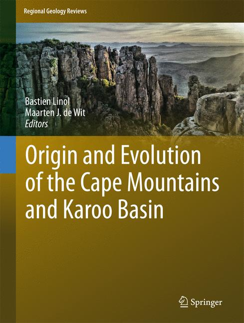 Cover of 'Origin and Evolution of the Cape Mountains and Karoo Basin'