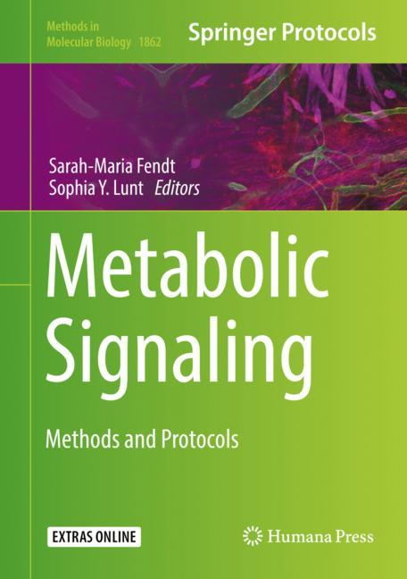 Cover of 'Metabolic Signaling'