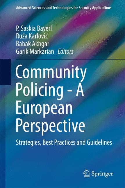 Cover of 'Community Policing - A European Perspective'