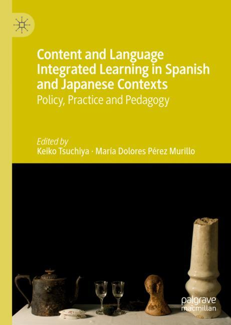Cover of 'Content and Language Integrated Learning in Spanish and Japanese Contexts'
