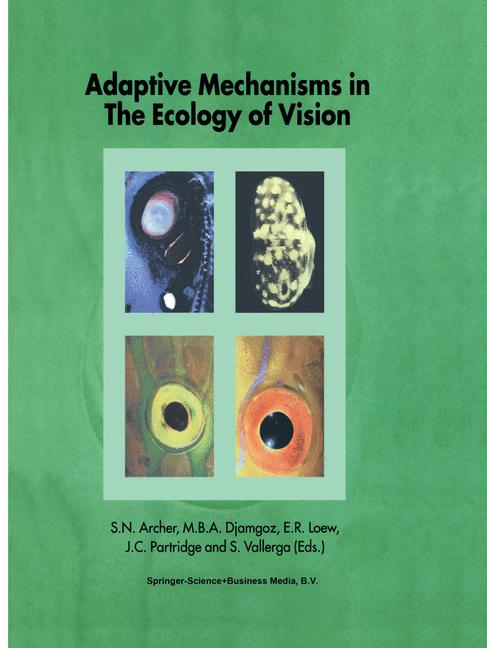 Cover of 'Adaptive Mechanisms in the Ecology of Vision'