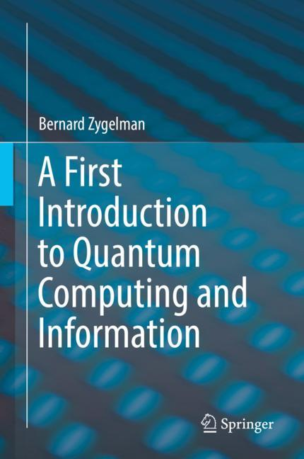 Cover of 'A First Introduction to Quantum Computing and Information'