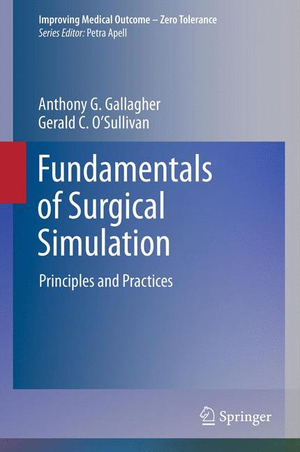Cover of 'Fundamentals of Surgical Simulation'