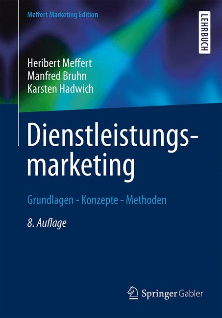 Cover of 'Dienstleistungsmarketing'
