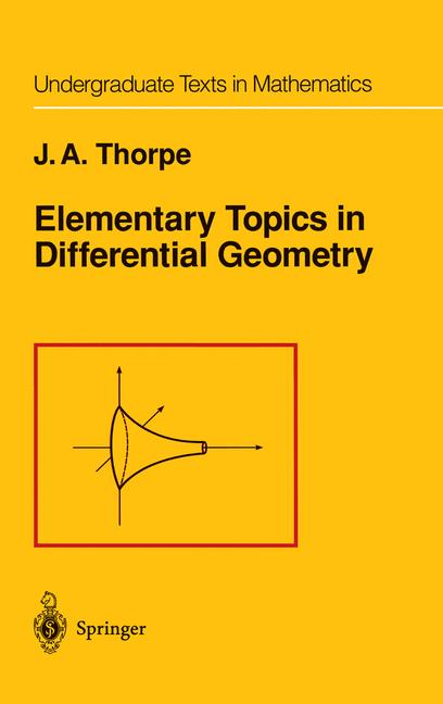 Cover of 'Elementary Topics in Differential Geometry'