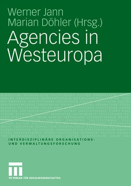 Cover of 'Agencies in Westeuropa'