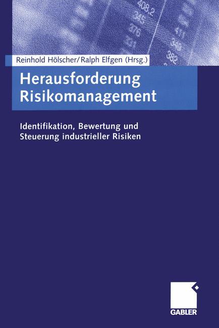 Cover of 'Herausforderung Risikomanagement'