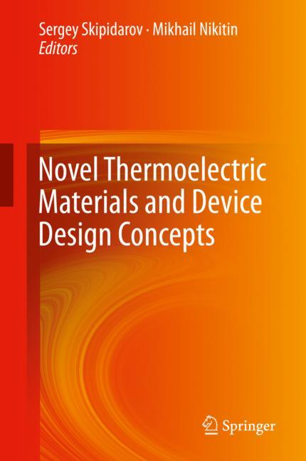 Cover of 'Novel Thermoelectric Materials and Device Design Concepts'