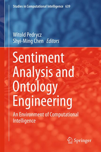 Cover of 'Sentiment Analysis and Ontology Engineering'