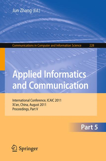 Cover of 'Applied Informatics and Communication'