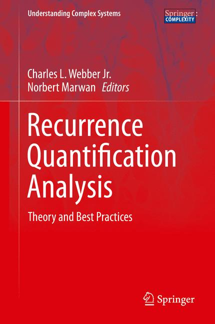 Cover of 'Recurrence Quantification Analysis'