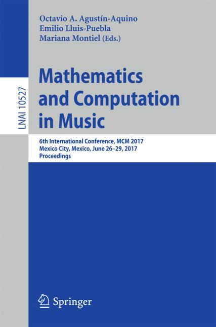 Cover of 'Mathematics and Computation in Music'