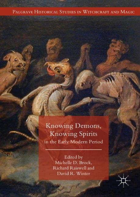 Cover of 'Knowing Demons, Knowing Spirits in the Early Modern Period'