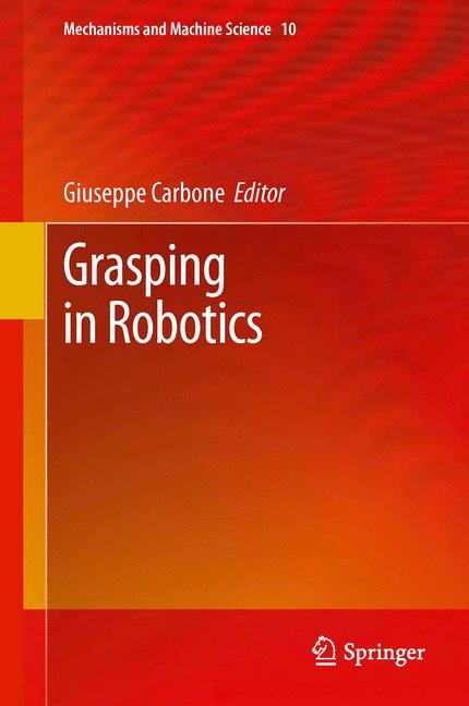 Cover of 'Grasping in Robotics'