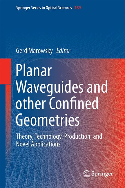 Cover of 'Planar Waveguides and other Confined Geometries'