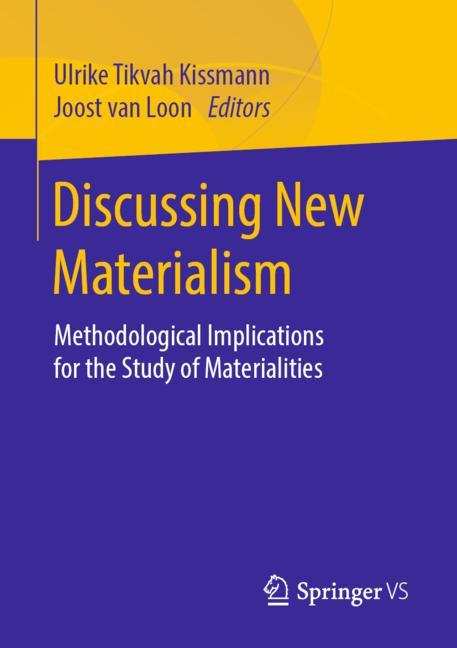 Cover of 'Discussing New Materialism'