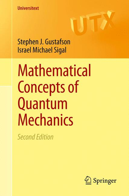 Cover of 'Mathematical Concepts of Quantum Mechanics'