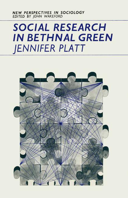 Cover of 'Social Research in Bethnal Green'