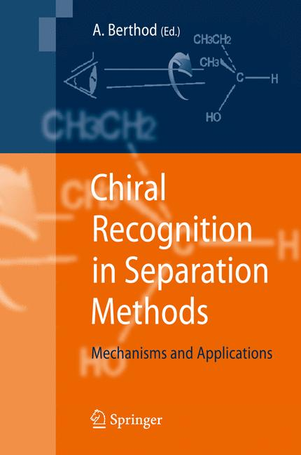 Cover of 'Chiral Recognition in Separation Methods'