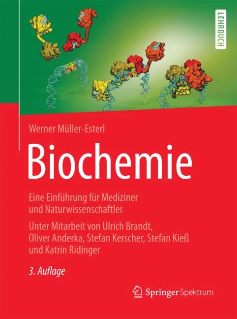 Cover of 'Biochemie'