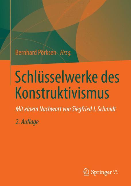Cover of 'Schlüsselwerke des Konstruktivismus'