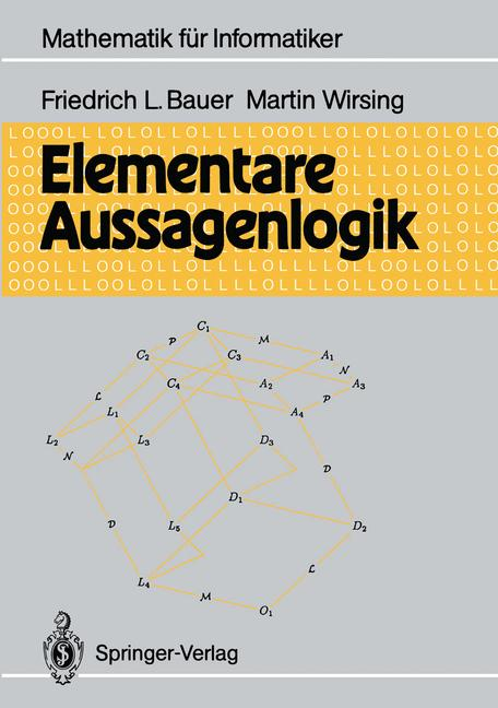 Cover of 'Elementare Aussagenlogik'