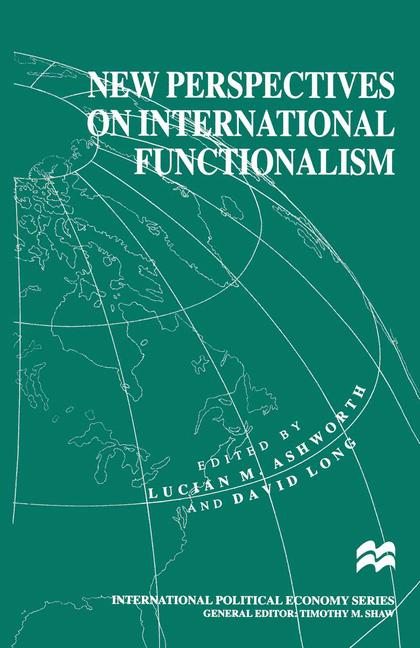 Cover of 'New Perspectives on International Functionalism'