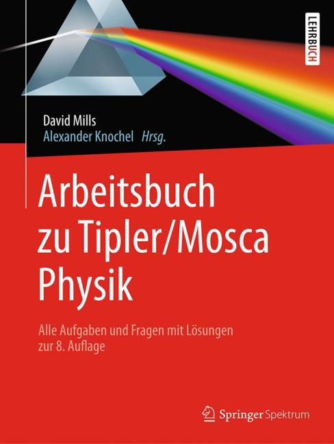 Cover of 'Arbeitsbuch zu Tipler/Mosca, Physik'