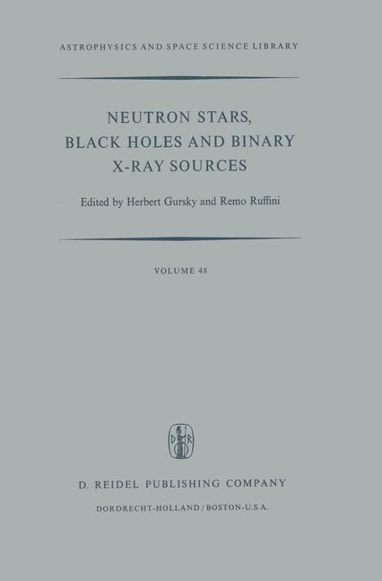 Cover of 'Neutron Stars, Black Holes and Binary X-Ray Sources'
