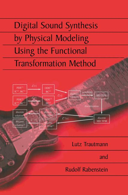 Cover of 'Digital Sound Synthesis by Physical Modeling Using the Functional Transformation Method'