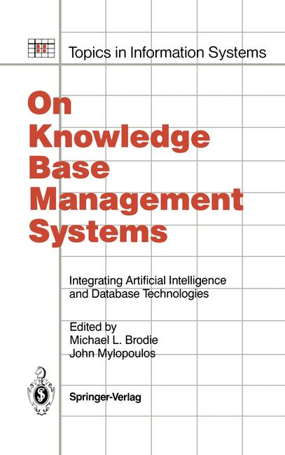 Cover of 'On Knowledge Base Management Systems'