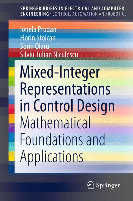 Cover of 'Mixed-Integer Representations in Control Design'