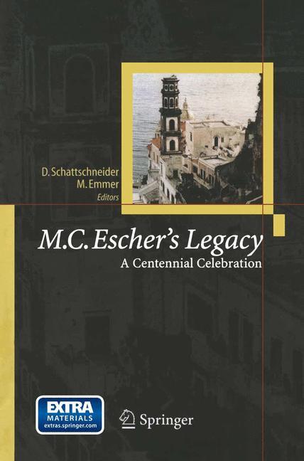 Cover of 'M.C. Escher's Legacy : A Centennial Celebration'