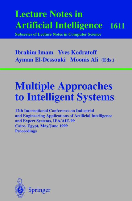 Cover of 'Multiple Approaches to Intelligent Systems'
