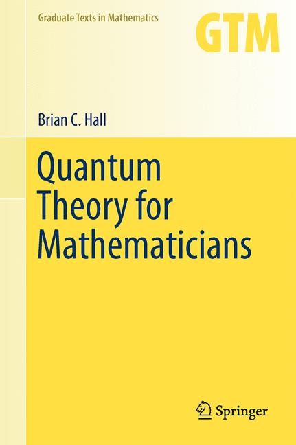 Cover of 'Quantum Theory for Mathematicians'