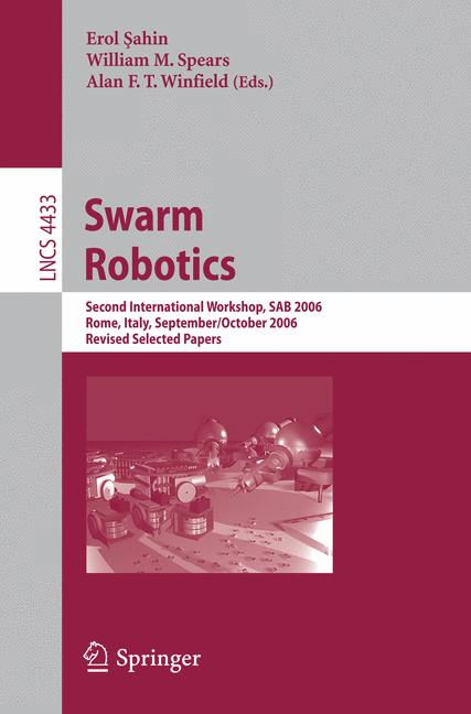 Cover of 'Swarm Robotics'