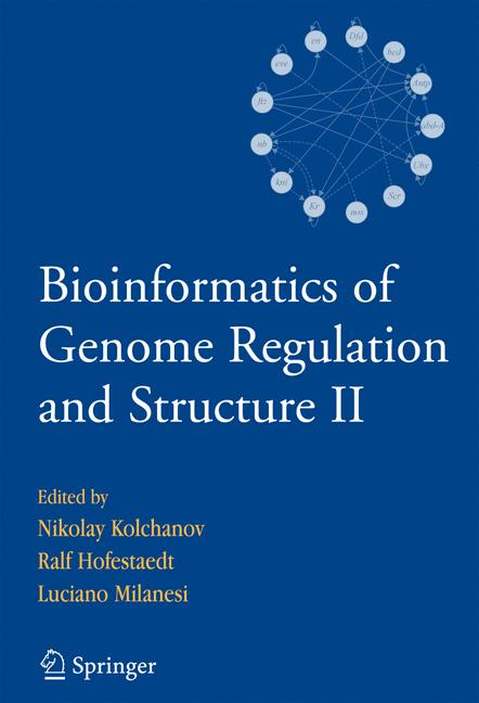 Cover of 'Bioinformatics of Genome Regulation and Structure II'
