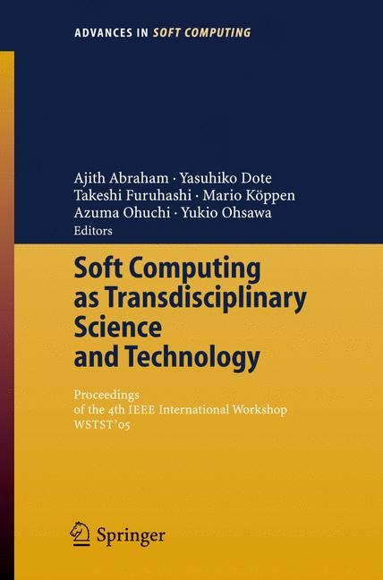Cover of 'Soft Computing As Transdisciplinary Science And Technology'