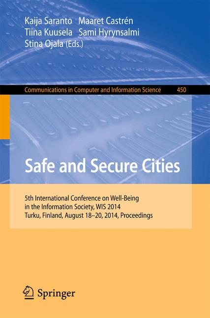Cover of 'Safe and Secure Cities'