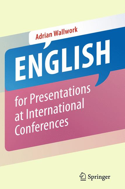 Cover of 'English for Presentations at International Conferences'