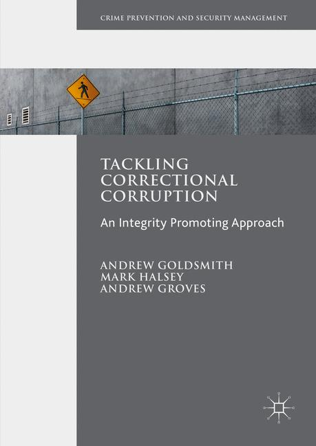 Cover of 'Tackling Correctional Corruption'