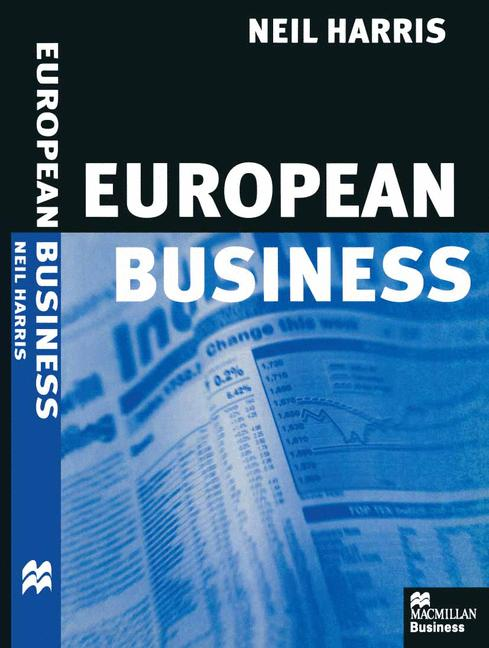 Cover of 'European business'