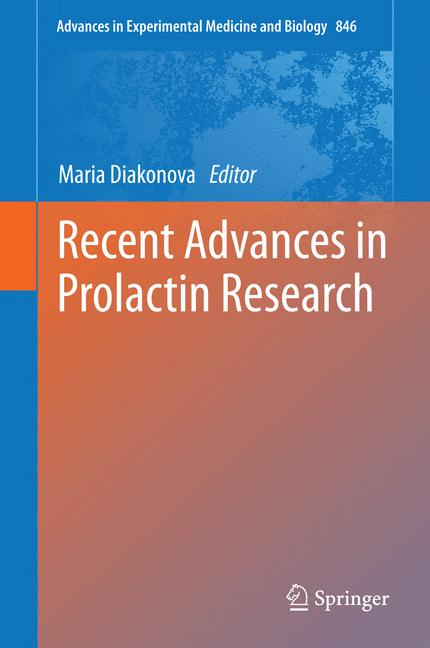 Cover of 'Recent Advances in Prolactin Research'